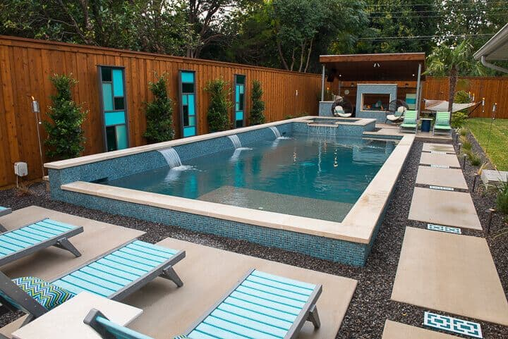 Pool modern  Modern Pool Builders Dallas TX | Summerhill Pools