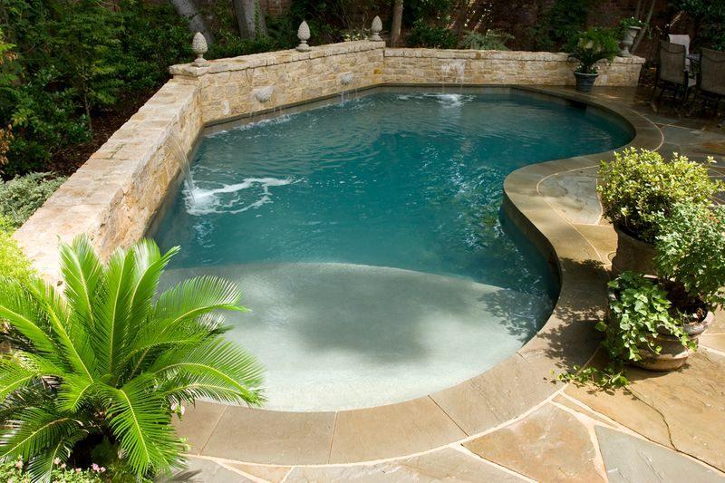 small freeform pool