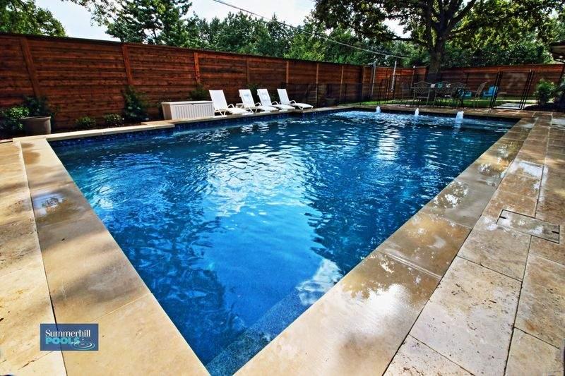 beautiful rectangle pool